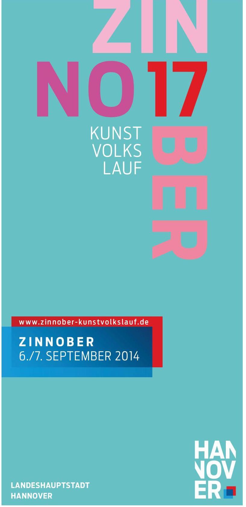 Zinnober 2014 Plakatmotiv